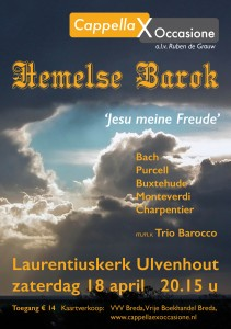 Hemelse Barok flyer